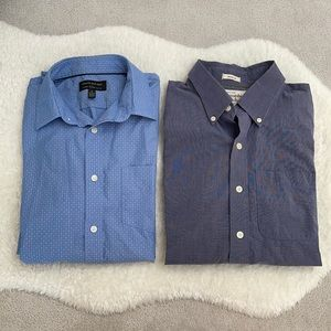 Bundle of 2 Men's Dress Shirts - Size S